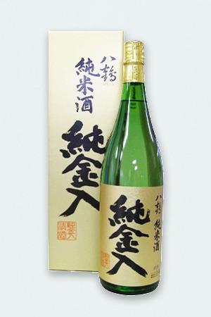 八鶴 純米酒 金箔入れ