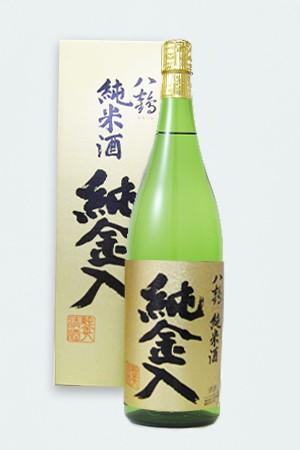 八鶴 純米酒 純金入